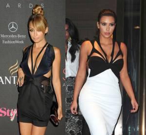 Kim Kardashian vs Nicole Richie : la bataille des robes a decoupes