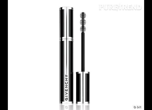 L'innovation : une brosse tri-sphère qui allonge, étoffe et recourbe les cils et un complexe Lash Booster Expert qui les protège. Mascara Noir Couture de Givenchy, 30€.