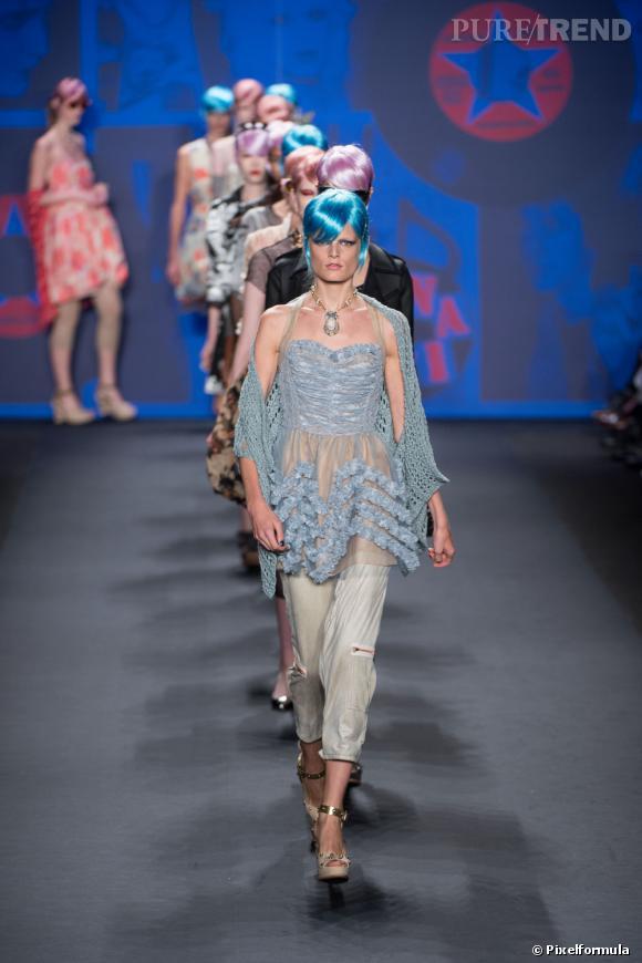 Défilé Anna SuiNew-York Printemps-Eté 2012