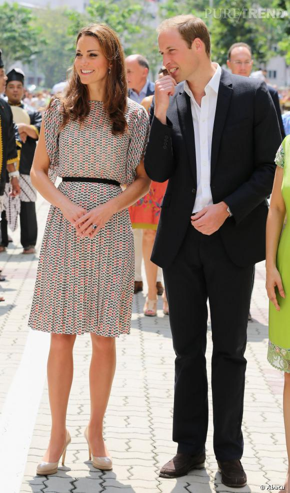 Kate Middleton, fraîche et girly en Raoul.