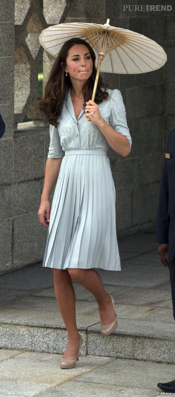 Kate Middleton, une princesse modèle et délicate.