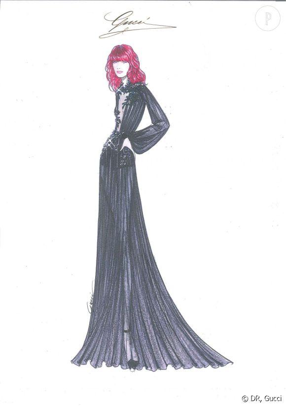 Les nouvelles créations Gucci pour Florence Welch.