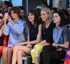 Alexa Chung, Olivia Palermo, Elle Fanning : les front rows londoniens du week-end