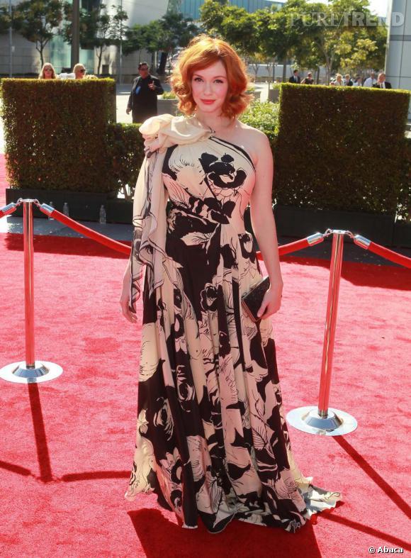 """Christina Hendricks à la soirée créative """"Arts Emmy Awards 2012"""", à Los Angeles, le 15 septembre dernier."""