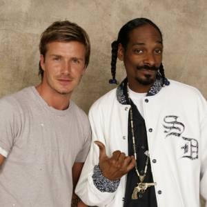 David Beckham et Snoop Dogg (pardon, Snoop Lion) sont très amis. Le rappeur envoie même ses titres à David pour une critique honnête.