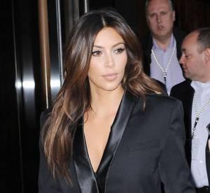 Kim Kardashian VS Fergie : la robe smoking Balmain