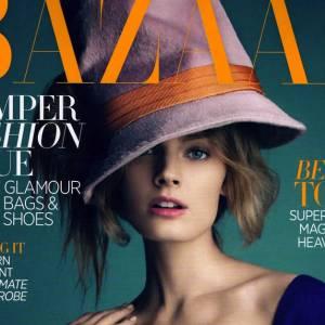 Mannequins français : notre top 10 Contance Jablonski en couv' Harper's Bazaar Australie septembre 2012
