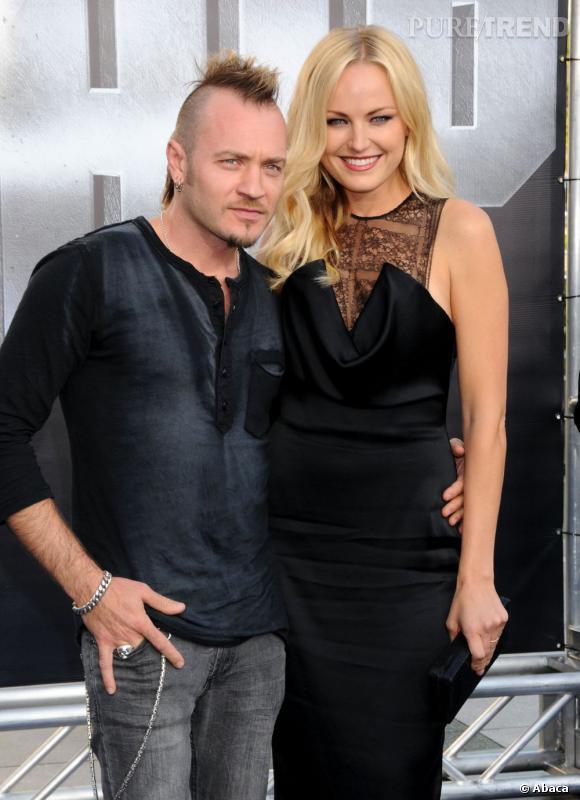 L'élégante Malin Akerman a épousé en 2007 le musicien italien Roberto Rincone.