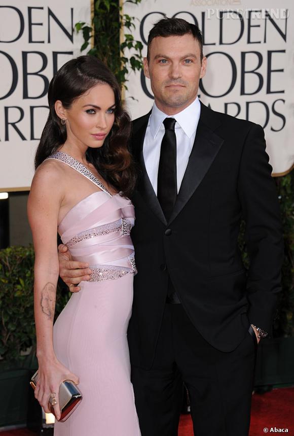 Brian Austin Green, bien mieux aujourd'hui et mariée à la belle Megan Fox.