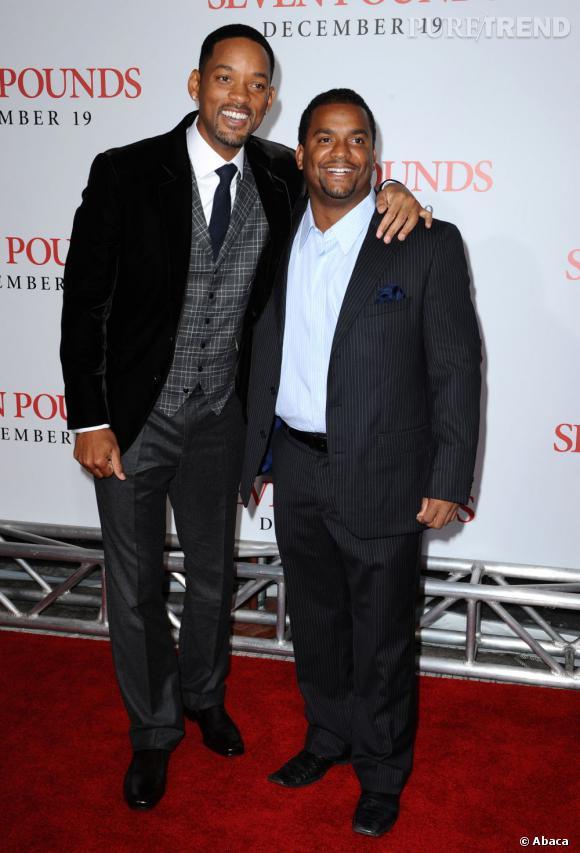 Will Smith et Alfonso Ribeiro, toujours amis des années plus tard.