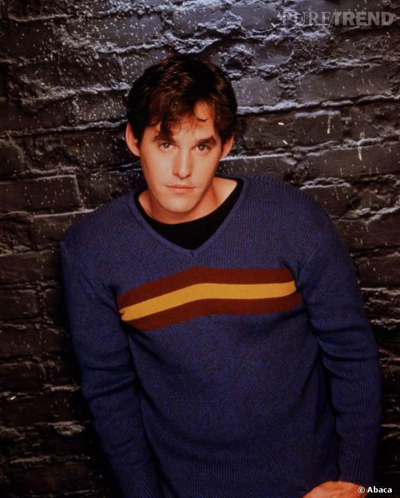 "Nicholas Brendon alias Alexander Harris (Alex) dans ""Buffy contre les vampires""."