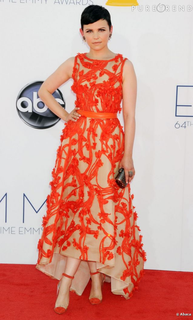 ginnifer goodwin ose la robe orange vif sur tapis rouge un choix audacieux mais qui lui r ussit. Black Bedroom Furniture Sets. Home Design Ideas