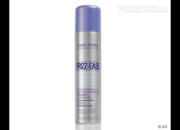 laque frizz ease bouclier anti humidit laque protectrice fixation forte de john frieda 9 99. Black Bedroom Furniture Sets. Home Design Ideas