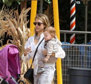 Jessica Alba, Heidi Klum... La chasse à la citrouille a commencé !