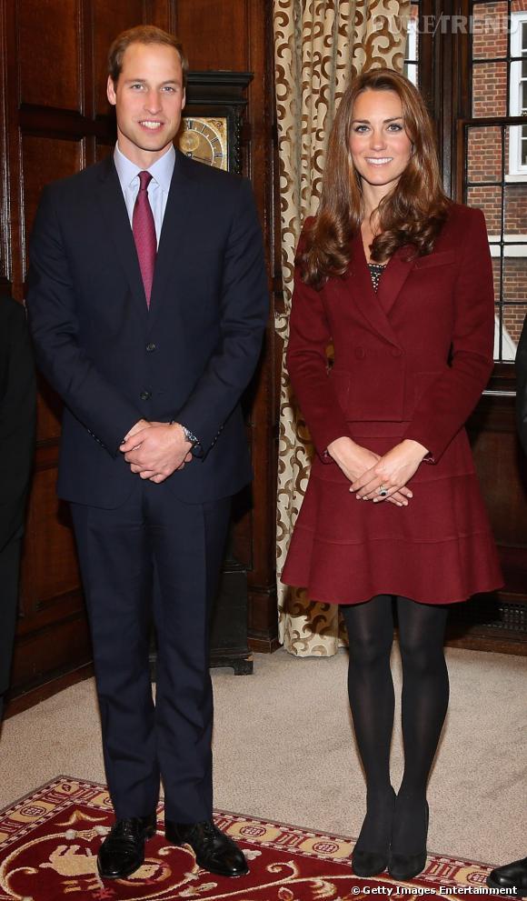 Kate Middleton aux côtés de son Prince William.