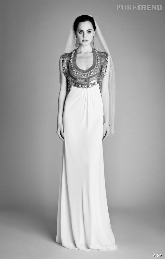 Les plus belles robes de mariée 2013 :    Collection Temperley Bridal  Spring 2013     Robe Goddess