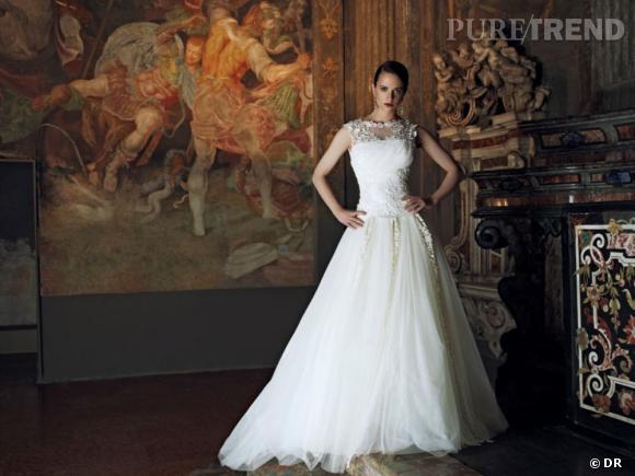Les plus belles robes de mariée 2013 :    Collection Alberta Ferretti Forever  Spring 2013      Robe Perla
