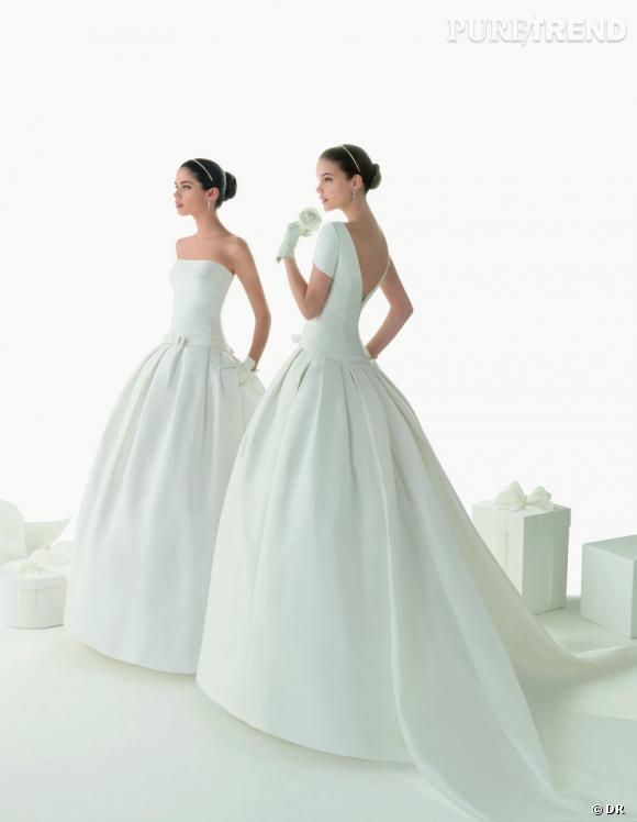 Les plus belles robes de mariée 2013 :    Collection Rosa Clará   2013       Robes Berenice et Belgica