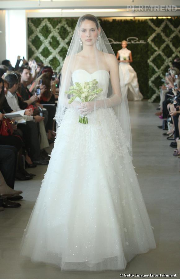 Les plus belles robes de mariée 2013 :   Collection Oscar de la Renta Bridal Spring 2013