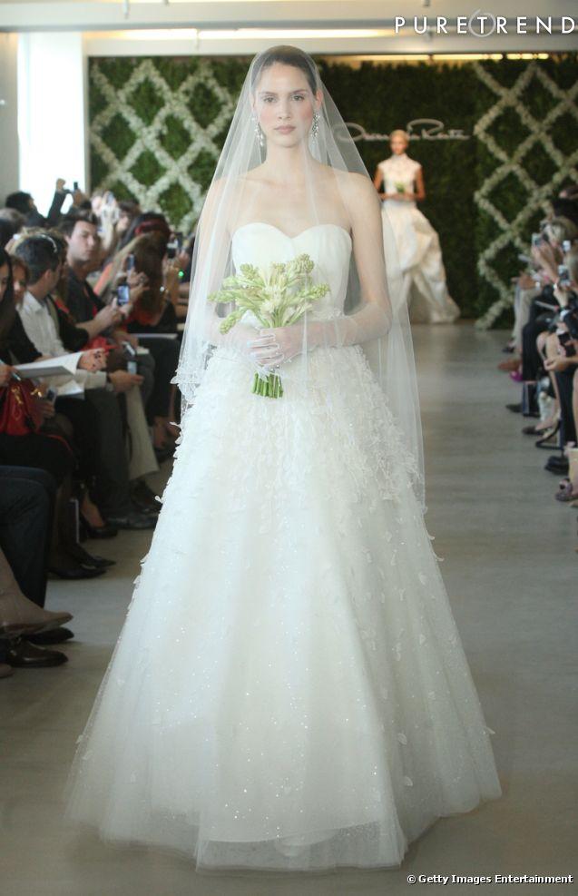 robes de mariée 2013 :Collection Oscar de la Renta Bridal Spring 2013