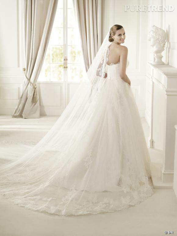 Les plus belles robes de mariée 2013 :    Collection Pronovias 2013    Robe Decada