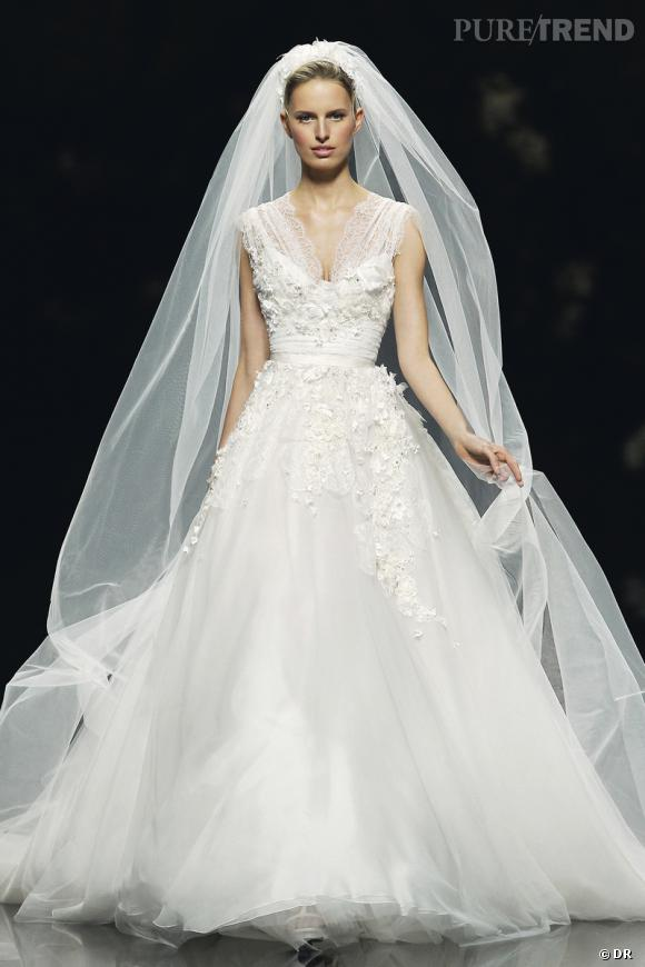 Les plus belles robes de mariée 2013 :    Collection Elie by Elie Saab  2013       Robe Denisse