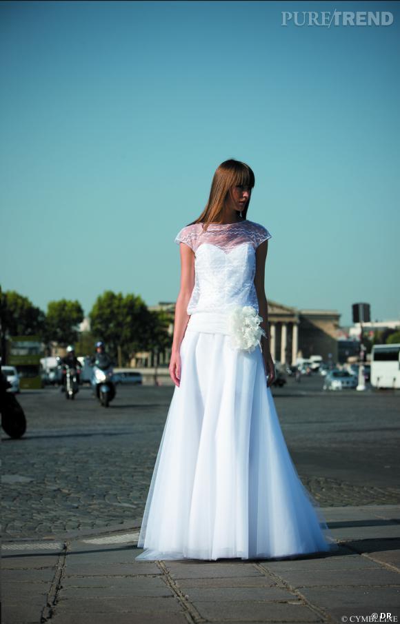 Les plus belles robes de mariée 2013 :    Collection Cymbelline 2013    Robe Grinou