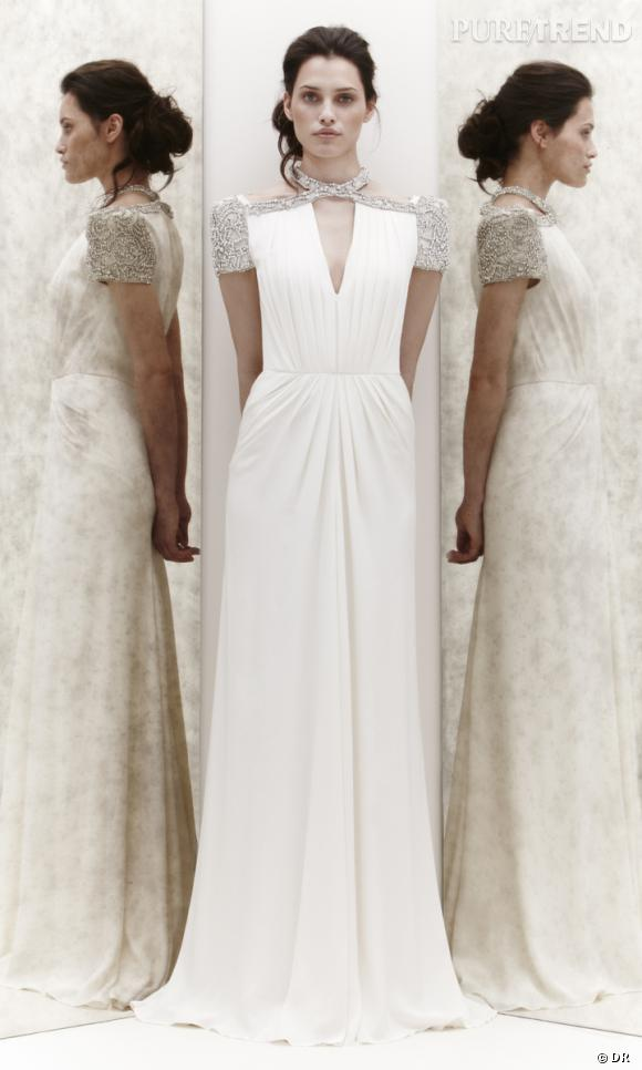 Les plus belles robes de mariée 2013 :    Collection Jenny Packham Bridal  Spring 2013       Robe Dentelle
