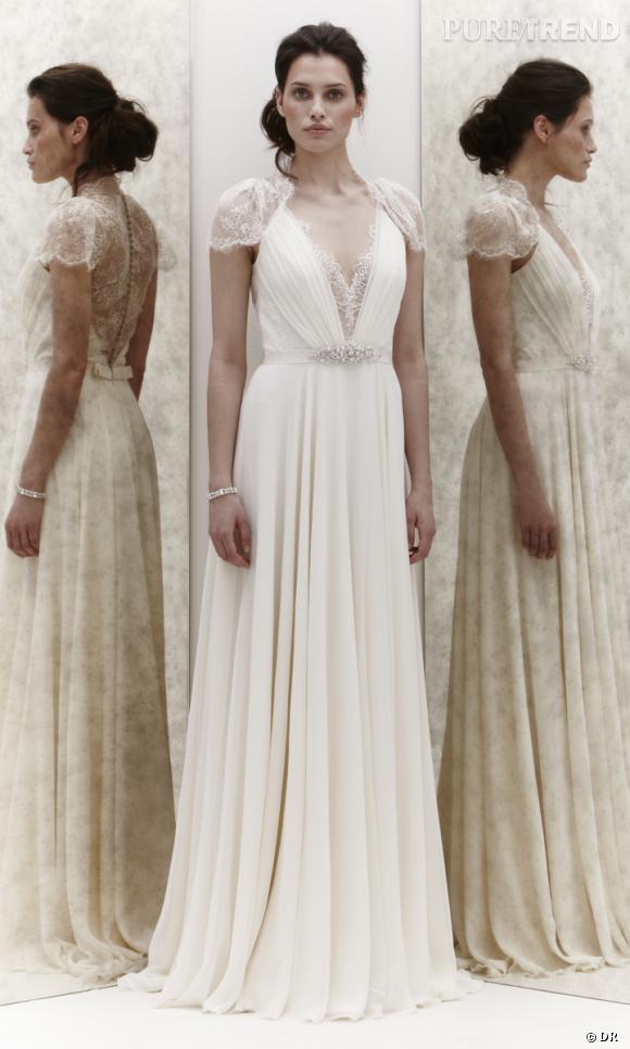 Les plus belles robes de mariée 2013 :    Collection Jenny Packham Bridal  Spring 2013       Robe Tease