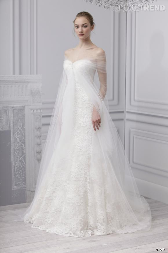 Les plus belles robes de mariée 2013 :    Collection Monique Lhuillier Bridal  Spring 2013       Robe Escape