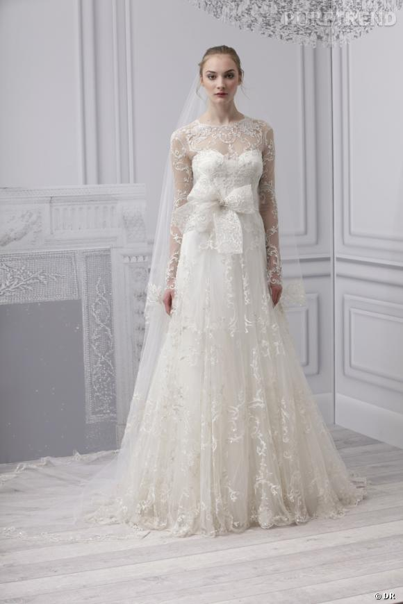 Les plus belles robes de mariée 2013 :    Collection Monique Lhuillier Bridal  Spring 2013       Robe Radiance