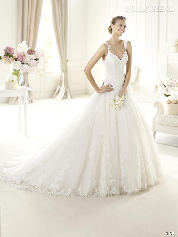Les plus belles robes de mariée 2013 :    Collection Pronovias 2013     Robe Uri
