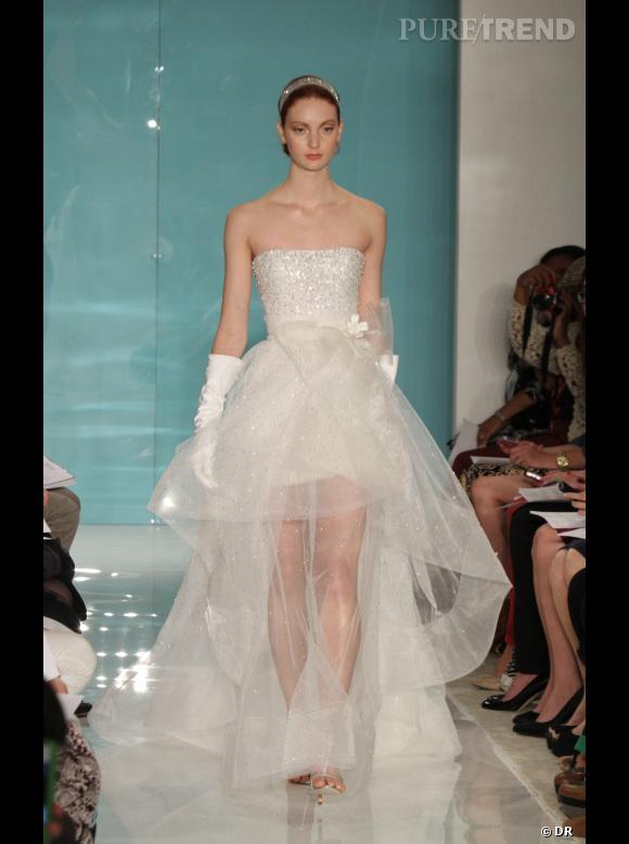 Les plus belles robes de mariée 2013 :   Collection Reem Acra Bridal  2013