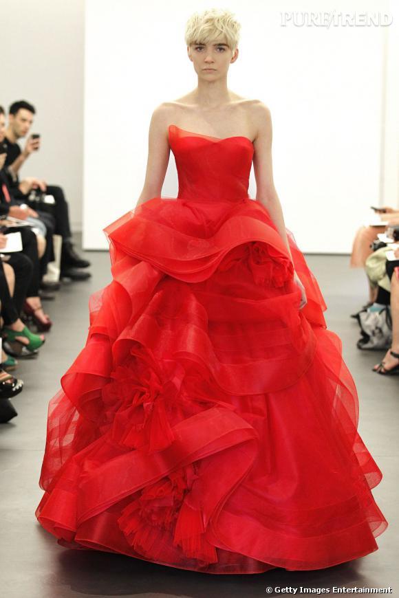 Les plus belles robes de mariée 2013 :   Collection Vera Wang Spring 2013