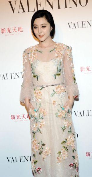 Olivia Palermo Vs Fan Bingbing La Robe Champêtre Chic De Valentino