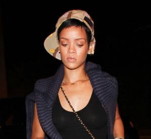 Rihanna triste, elle fait le minimum cote look