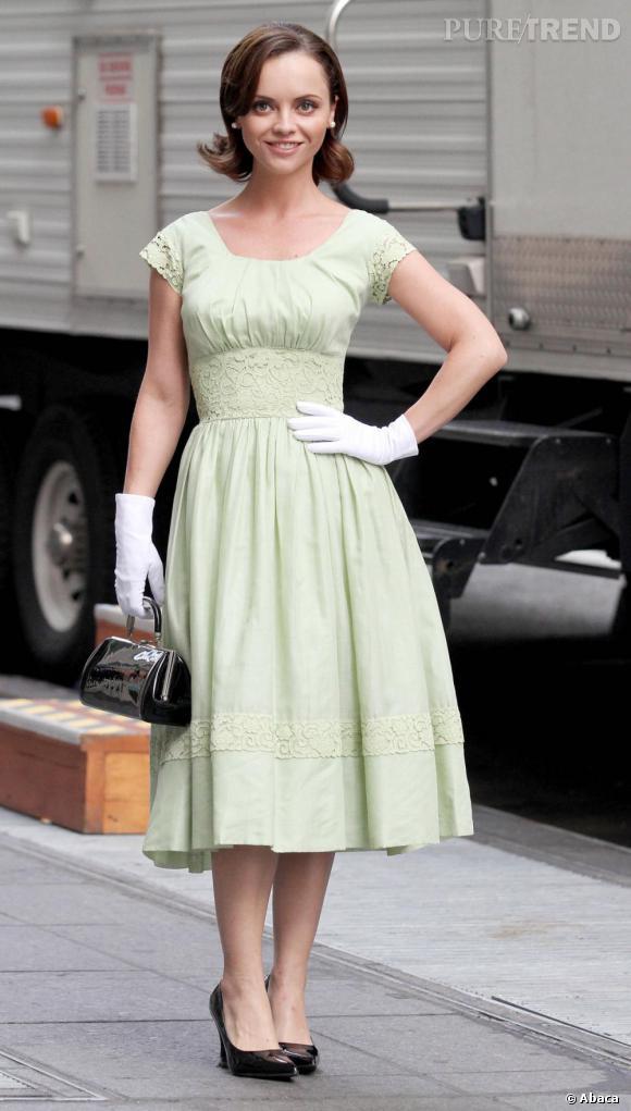 Aujourd'hui : Christina Ricci, une star Holywoodienne.