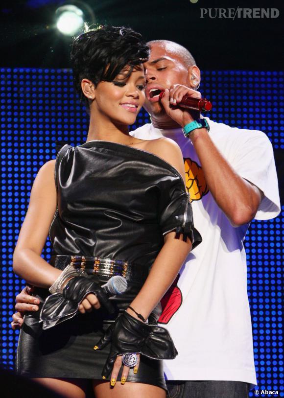 Rihanna et Chris Brown ont encore été vus ensemble ce week-end. À quand l'annonce officielle de leur couple ?