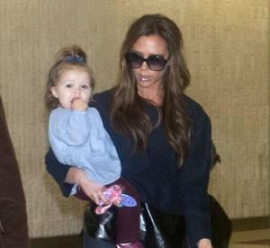 Victoria Beckham et sa fille Harper : des voyageuses à la pointe du style