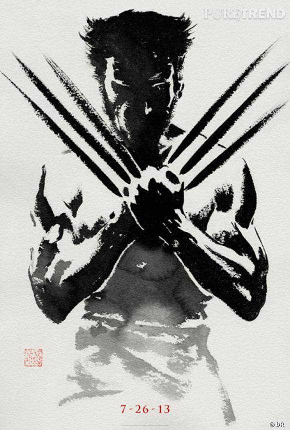 """Le premier poster promotionnel de """"The Wolverine"""" vient de sortir... Et il en jette !"""