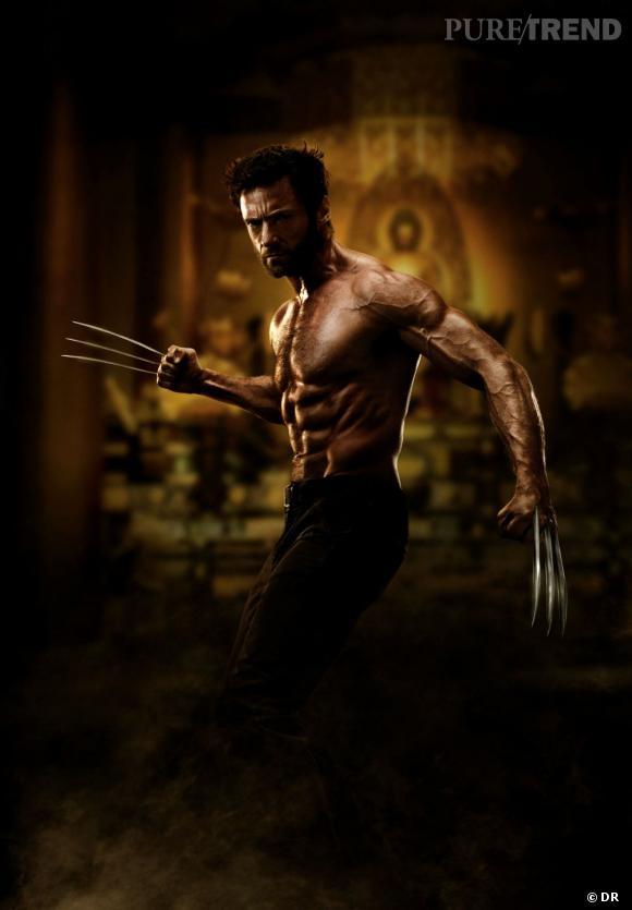 Hugh Jackman a avoué être ravi d'avoir eu le temps de s'entrainer physiquement pour vraiment prendre du muscle. On confirme, il est baraqué !
