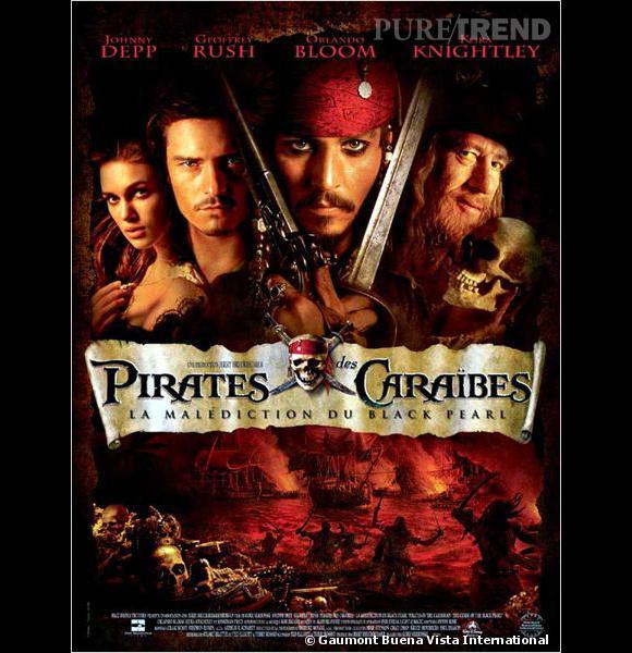"""Dans """"Pirate des Caraïbes"""" Keira Knighley est soumise à un choix cornélien : Johnny Depp ou Orlando Bloom."""