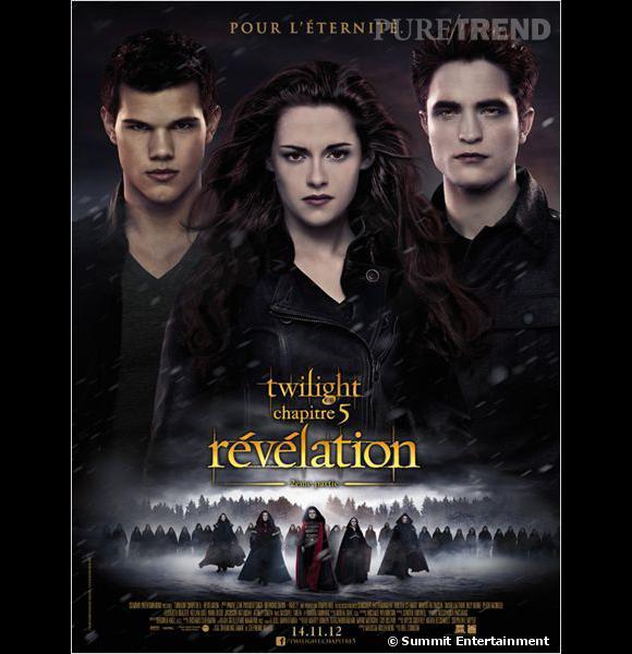 """Le triangle amoureux Bella-Edward-Jacob revient au cinéma dans le dernier volet de la saga """"Twilight"""" le 14 novembre."""