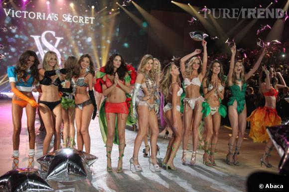 Le défilé Victoria's Secret 2012 à New York.