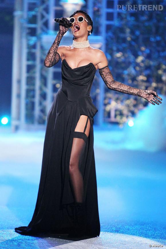 Rihanna joue les divas.
