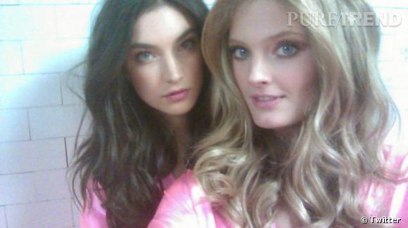 Constance et Jacquelyn Jablonski, qui ne sont pas soeurs mais très copines.