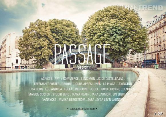 Le Passage Parisien : une visite guidée fashion autour du canal Sain Martin initiée par les créateurs du quartier wwwpassageparisien.com