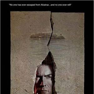 """Dans """"L'Évadé d'Alactraz"""", on retrouve un Clint Eastwood déterminé à s'échapper de la prison la plus sécurisée des États-Unis."""