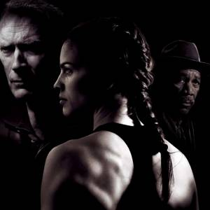 "Mais quand on parle de Clint Eastwood, on se souvient aussi de son film poignant avec Hilary Swank : ""Million Dollar Baby""."