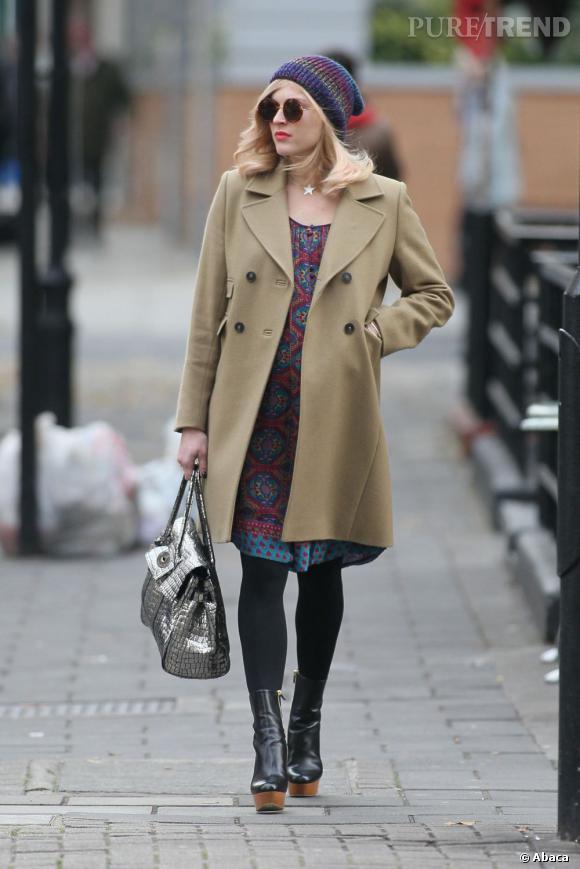 Fearne Cotton, une future maman pleine de style à Londres.